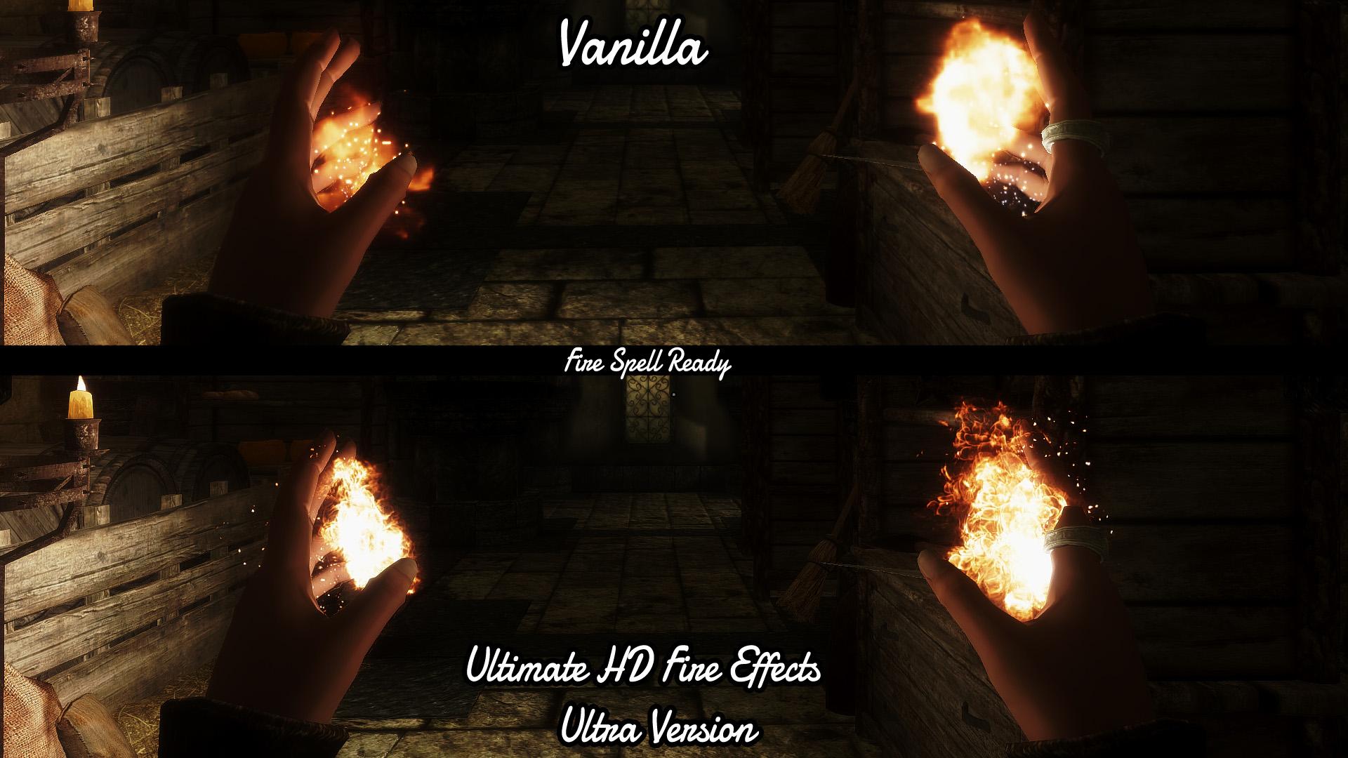 hd fire file - Enhanced Game Play 2 mod for Elder Scrolls V
