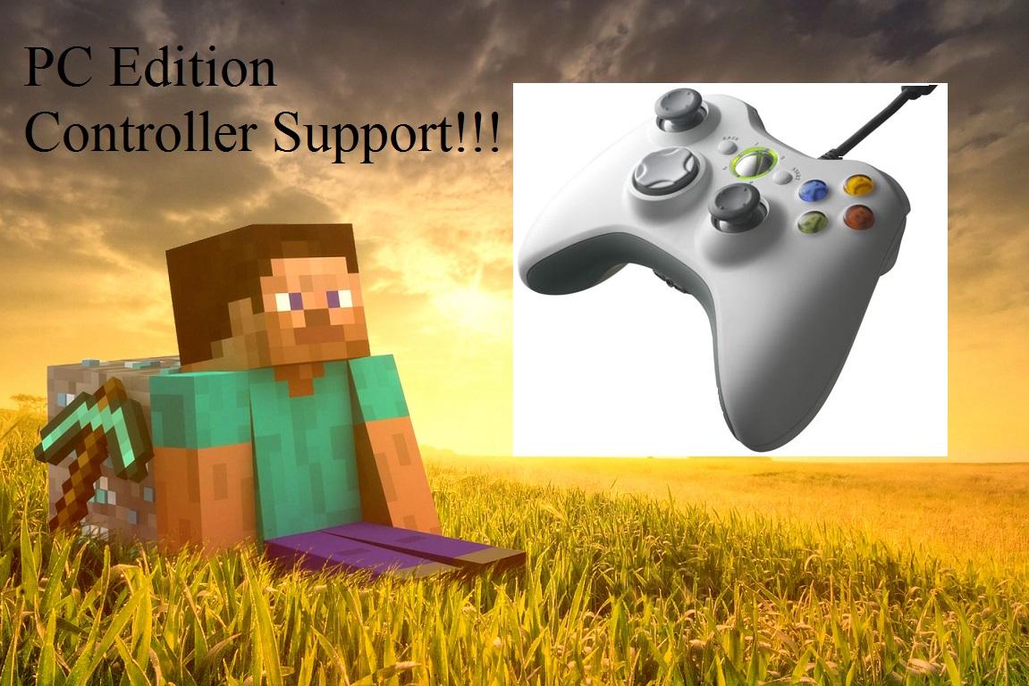 Minecraft XBOX 360 Controller Support addon - Mod DB