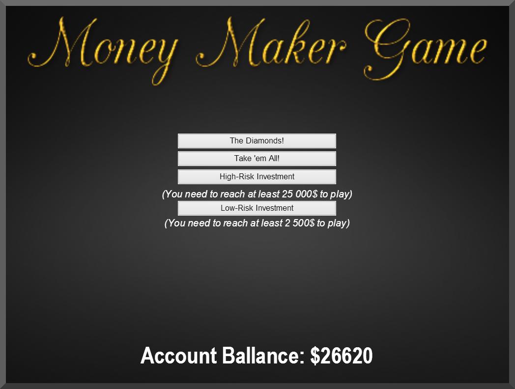 MoneyMaker Beta