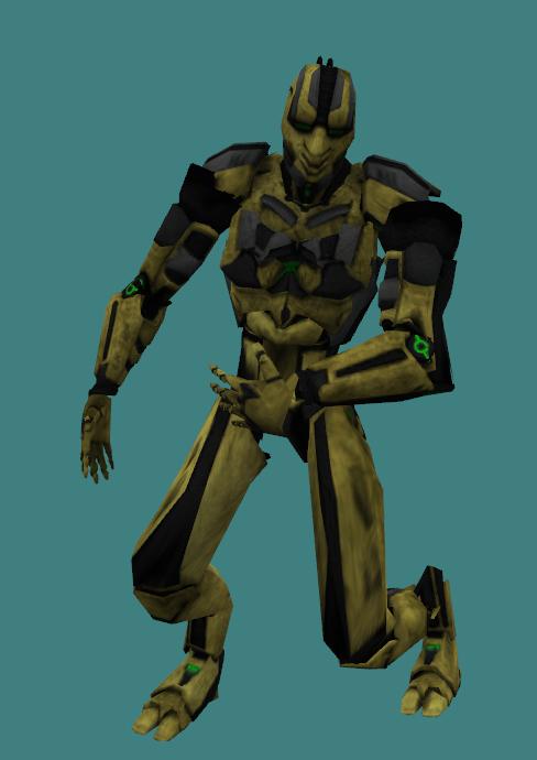 Cyrax MK9 for Counter Strike addon - Mortal Kombat mod for