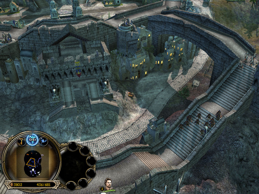 Cirith Ungol addon   Battle for Middle earth II: Rise of the Witch