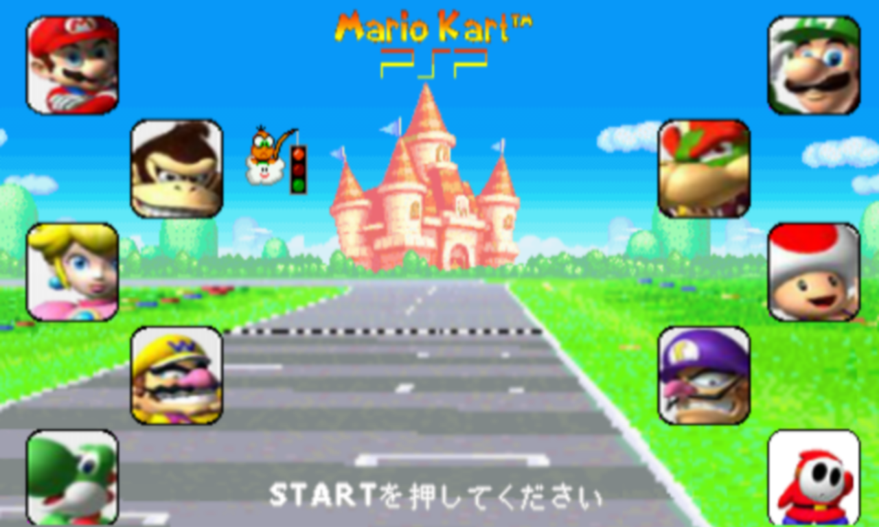Mario Games For Ps3 : Mario kart psp lua game indie db