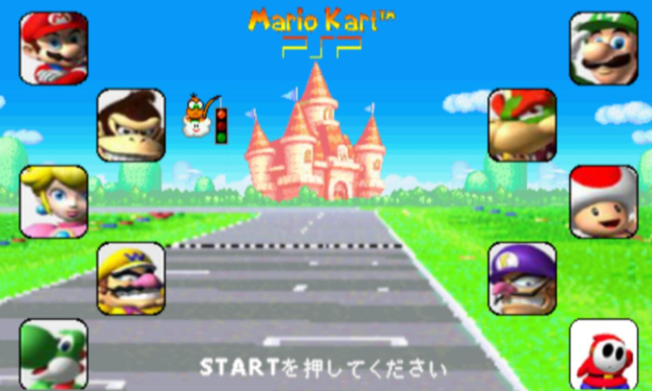 Mario Kart PSP 4 9 file - Mod DB