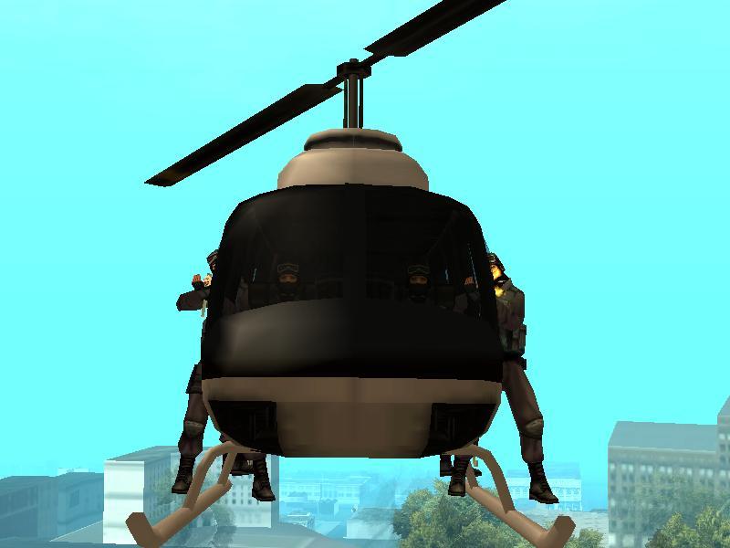 GTA San Andreas Mod: Powerful Police