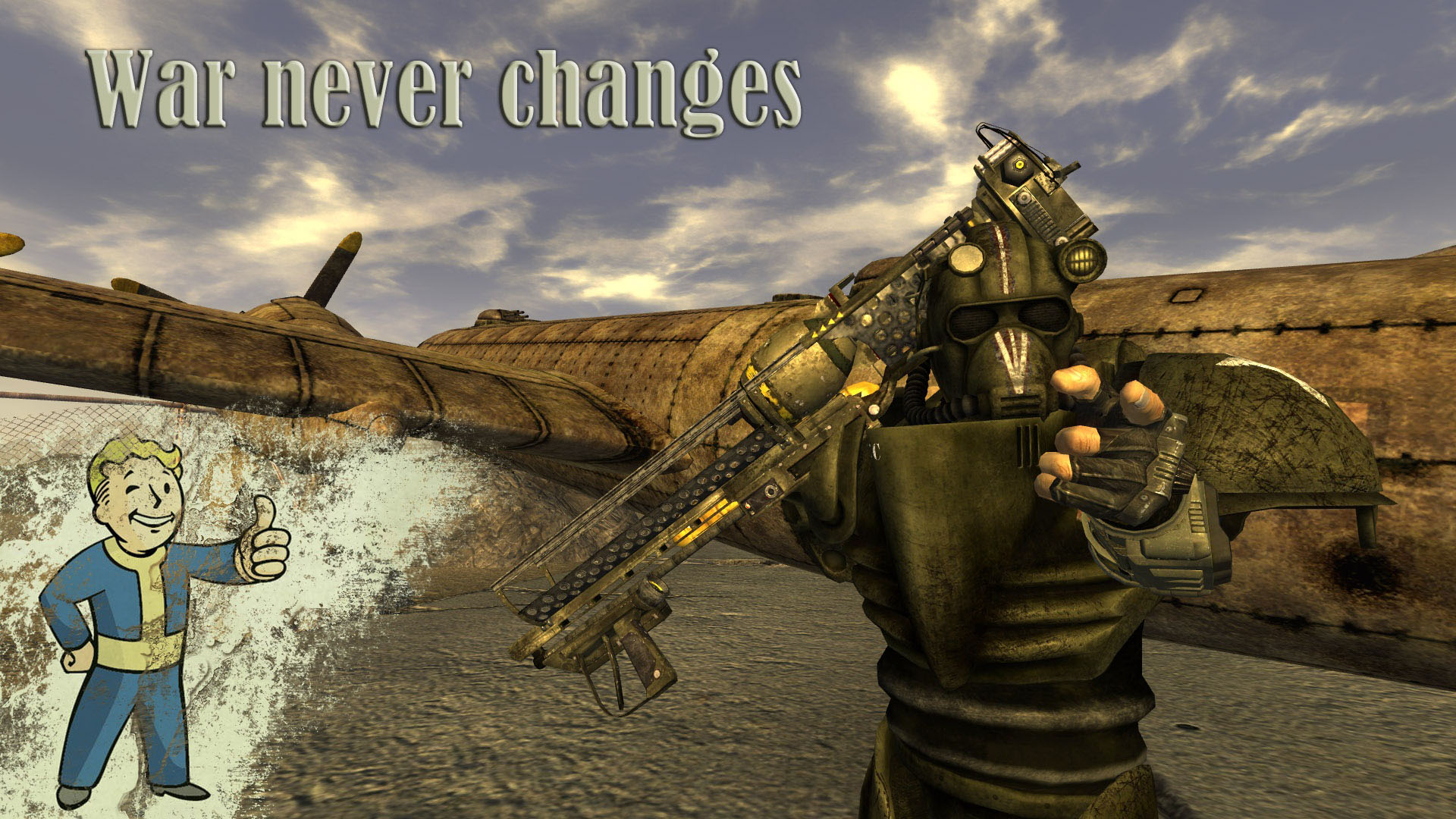 Magnificent Air Force Power Armor T 57C Addon Fallout New Vegas Mod Db Hairstyles For Men Maxibearus