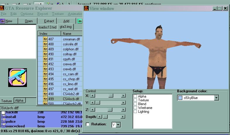San Andreas Resource explorer file - Mod DB
