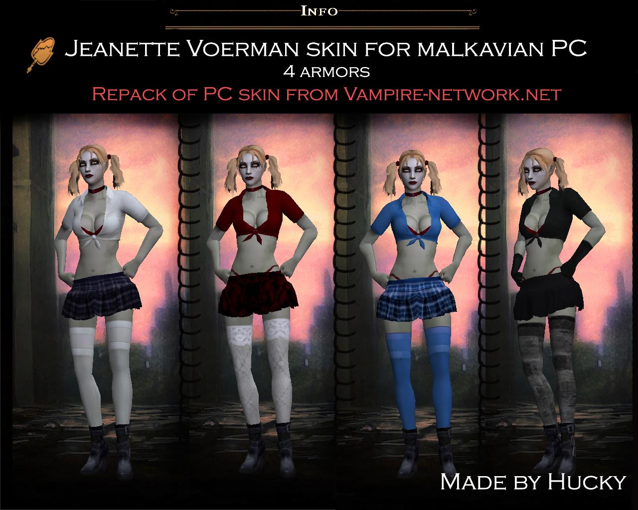 Vampire The Masquerade Bloodlines Malkavian Female Skins Wiring Toyota Camry A C Clutch Light Flashing Diagram Binatanicom Jeanette Skin For Pc Addon Rh Moddb Com Therese