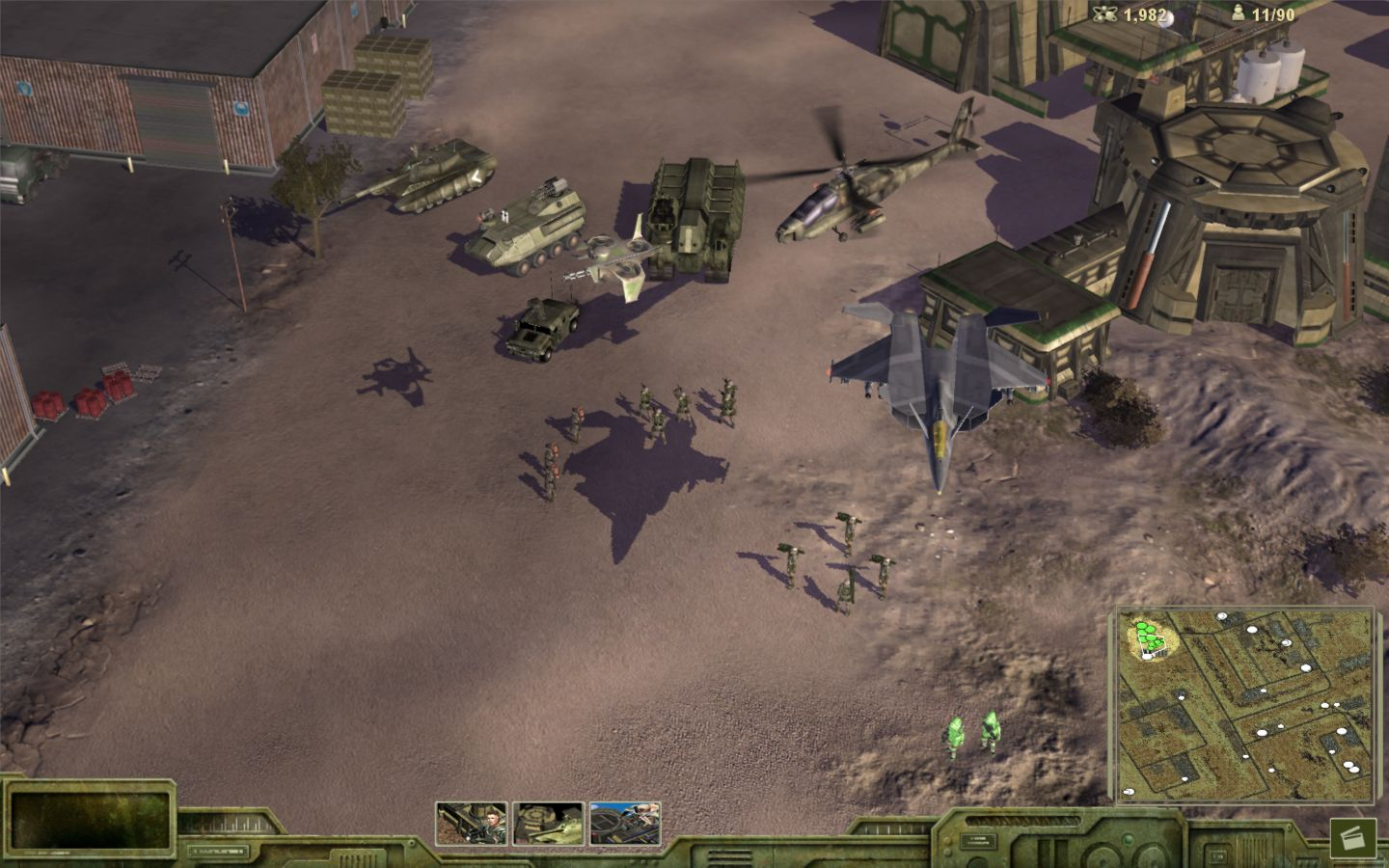 Universe at War: Earth Assault Screenshot 1