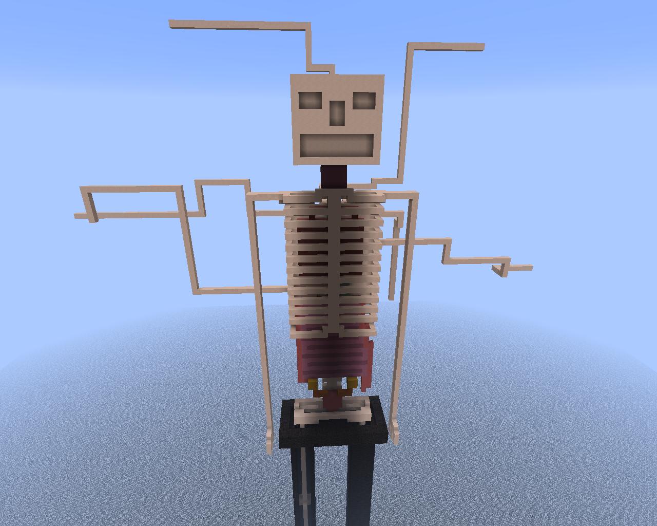 Slenderman Statue This One Has No Eyes Addon Minecraft Mod Db