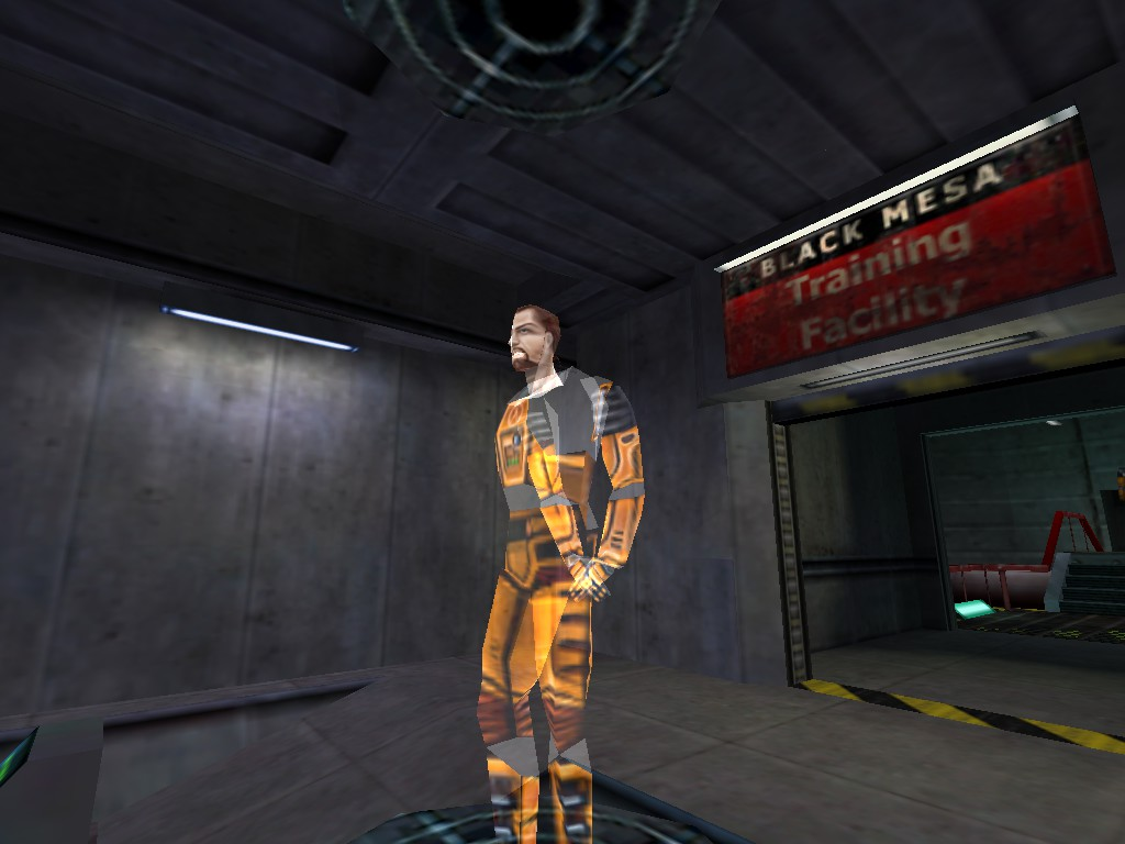Gordon Freeman Training Hologram Addon Mod Db