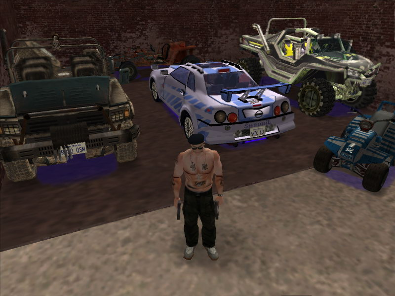5 - SAN ANDREAS fame QUAD BIKE Features Mesh totals - Verts 16503,