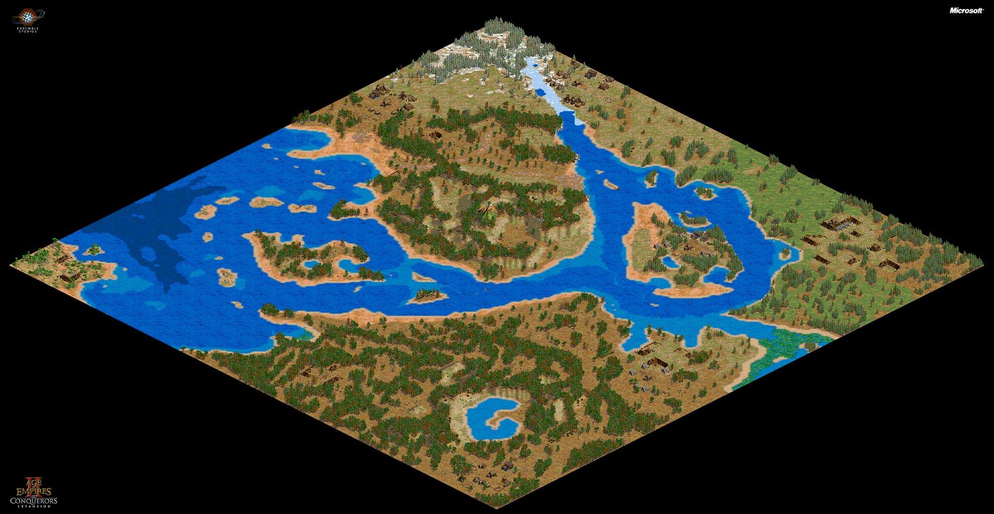 AoC Custom Scenarios for Age of Empires II: The Conquerors