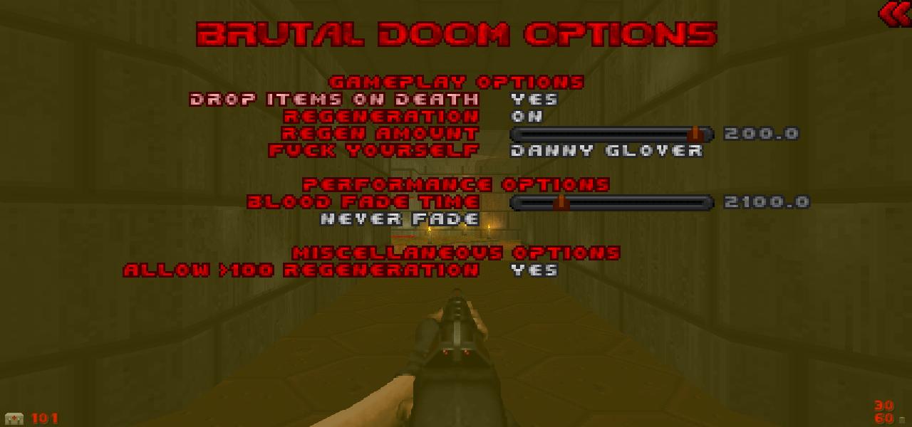 Brutal Doom V21 Test - menugoo