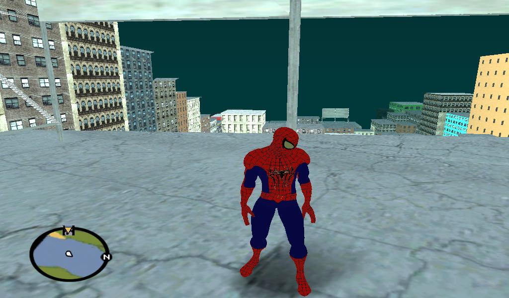 Гта человек паук 2