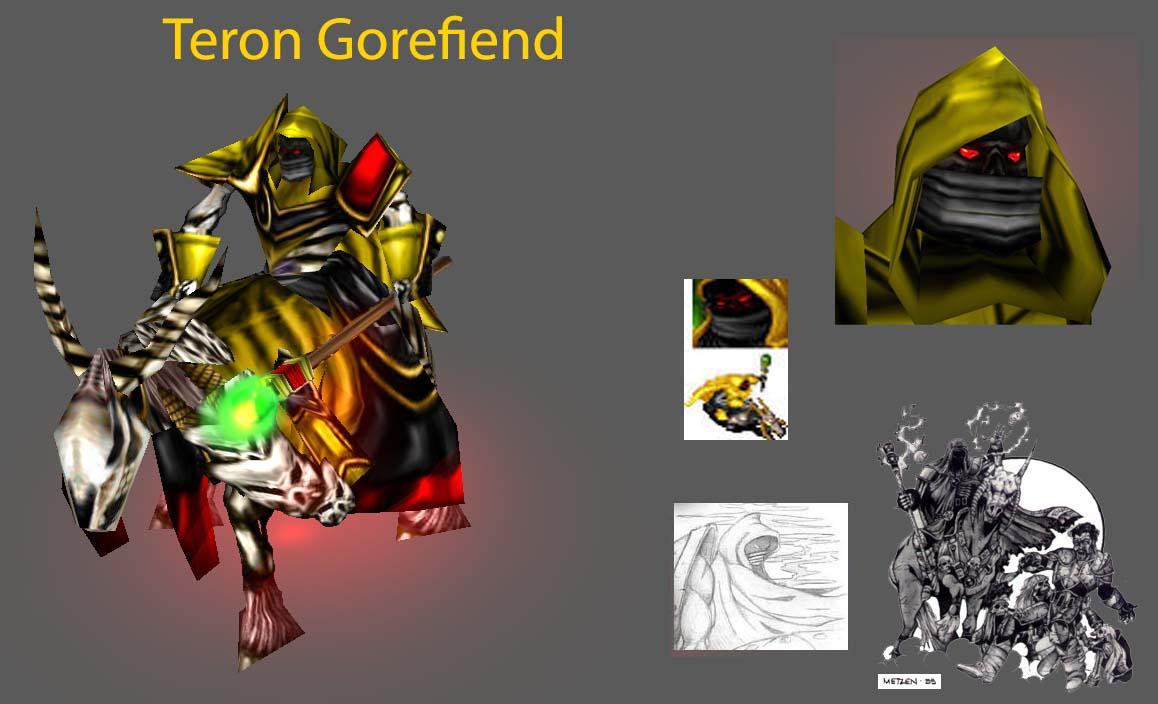 Teron Gorefiend teron gorefiend addon - warcraft iii: frozen throne