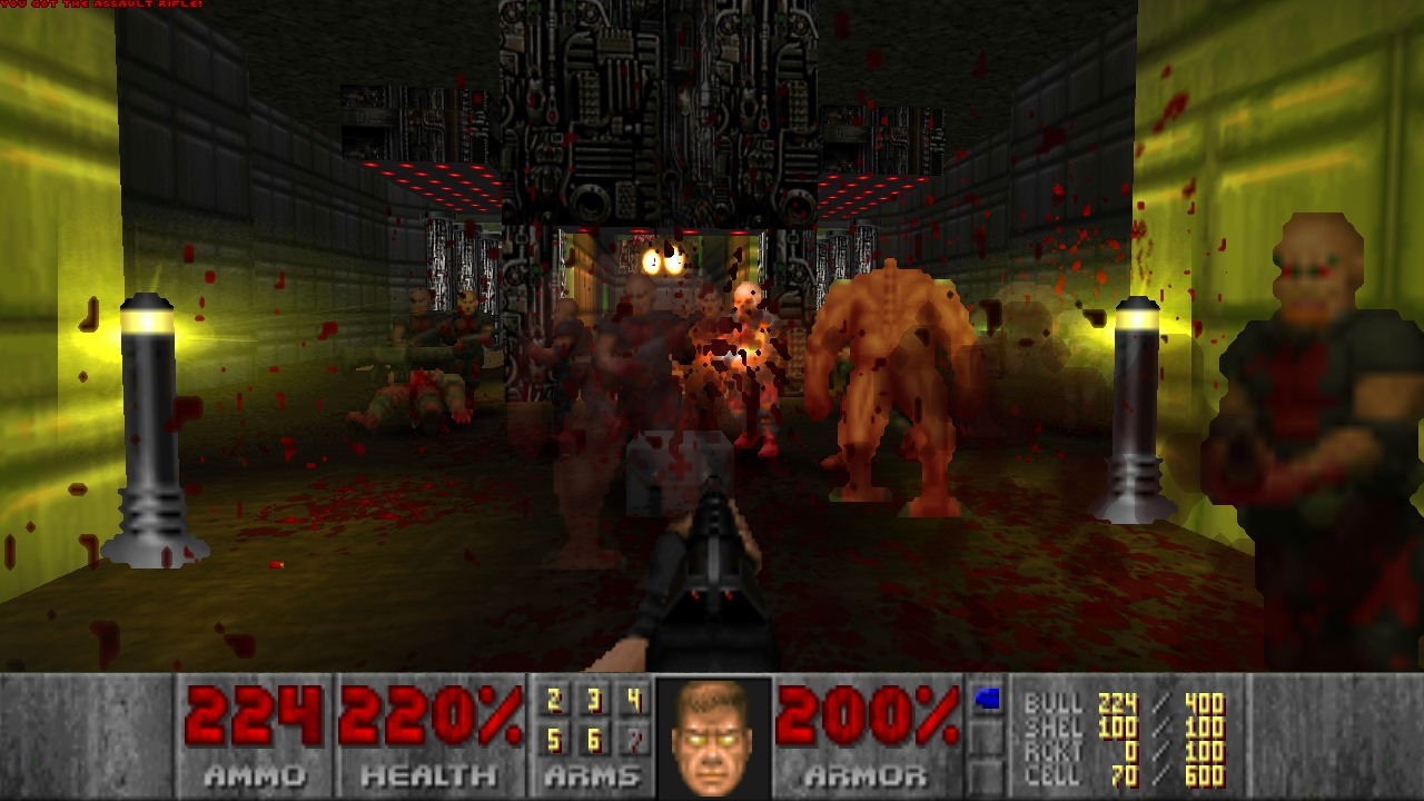 Maps of Chaos: The Full Package (1 28) addon - Brutal Doom mod for