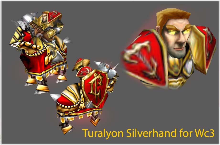 Turalyon Silverhand Addon Warcraft Iii Frozen Throne