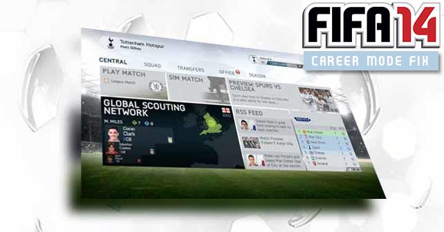 FIFA14 Career Mode Fix file - Mod DB