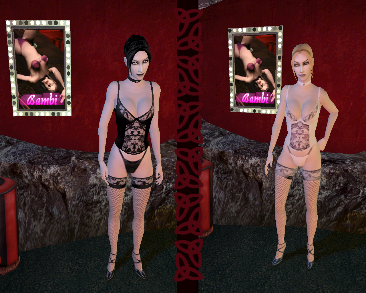 Vampire the masquerade bloodlines nude skins sexy images