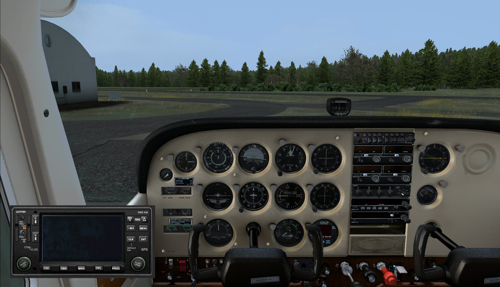 Alabeo Cessna 172RG Cutlass Panel Edit file - Cirrus N210MS Workshop