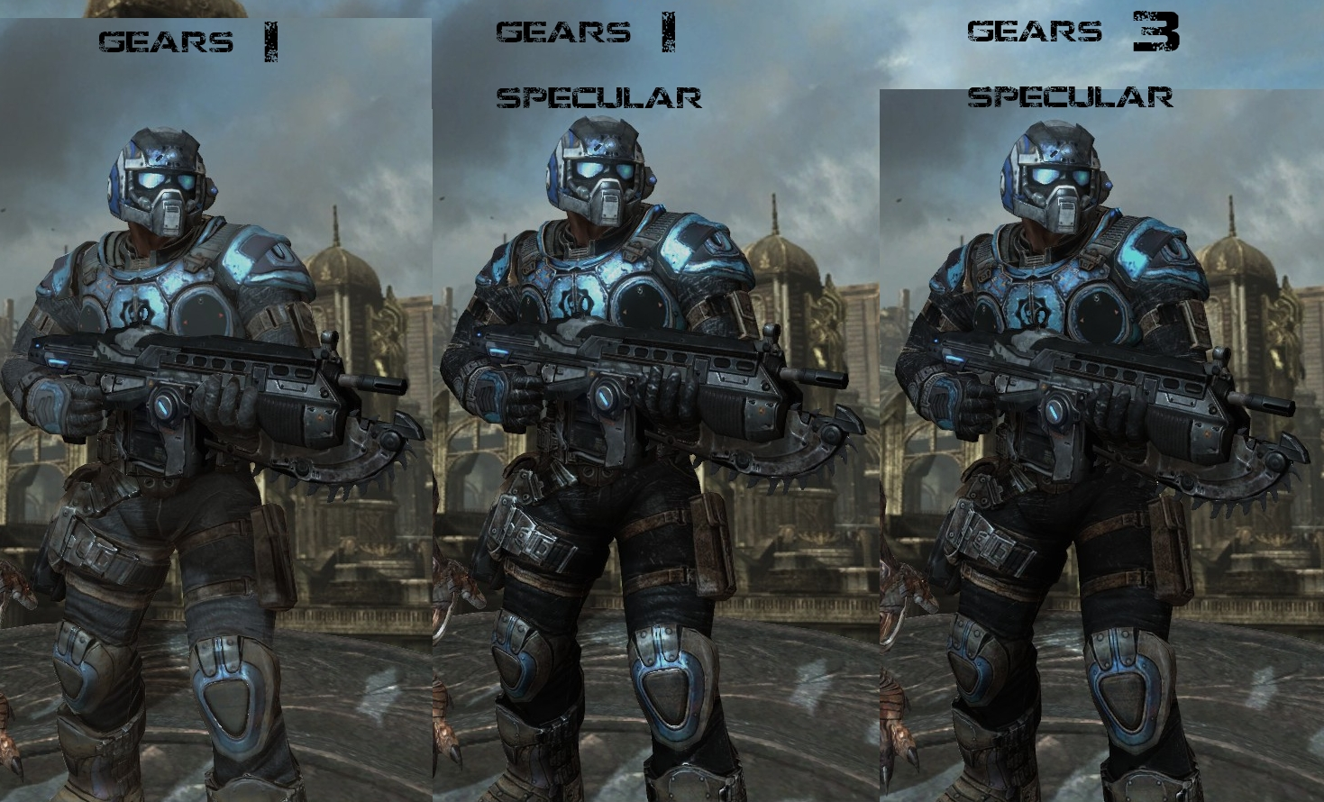 Gears Of War 3 COG Texture Replacement Pack Addon