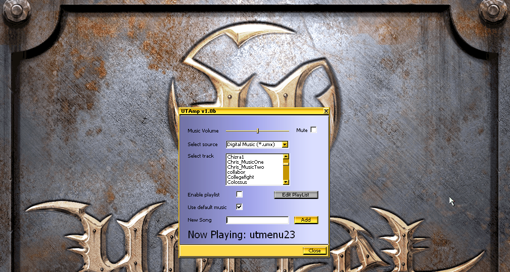 UTAmp 1 8b file - Unreal Tournament - Mod DB