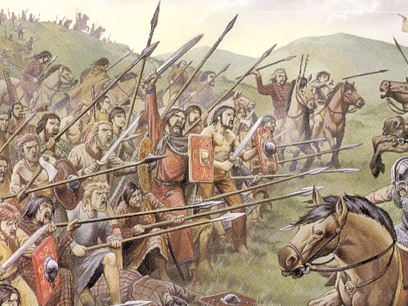An overview of the history of celts in 9th century bc