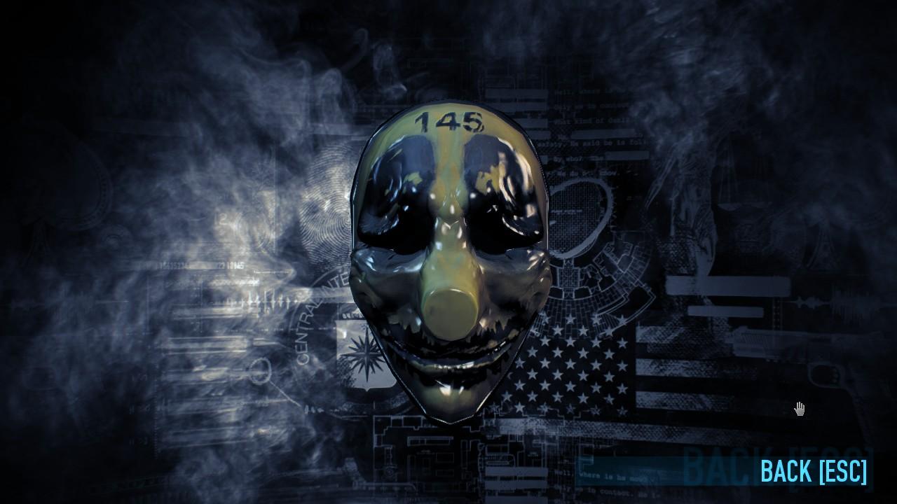 PAYDAY 2 - Hoxton's Gold Mask addon - Mod DB