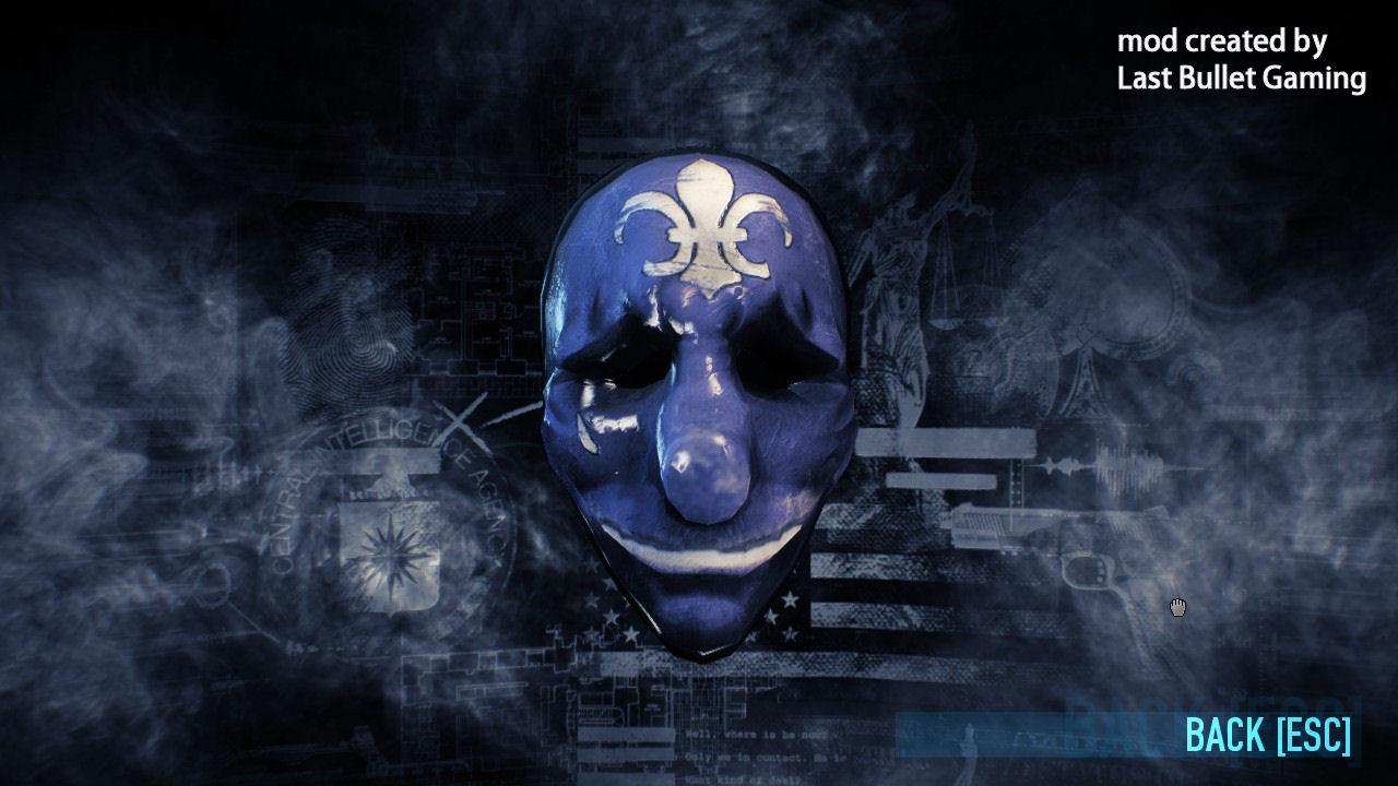 PAYDAY 2 - Hoxton's Secret Mask addon - Mod DB