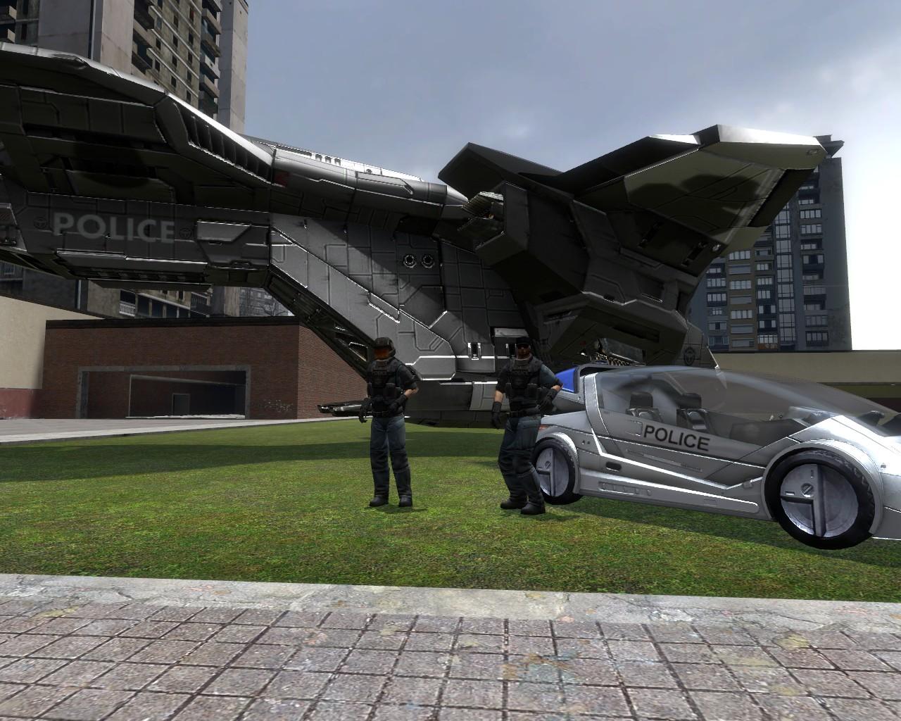 Halo 3 ODST NMPD Officers v2 addon - Garry's Mod - Mod DB