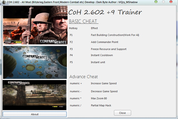 Company Of Heros 2 602 Trainer 9 File Mod Db