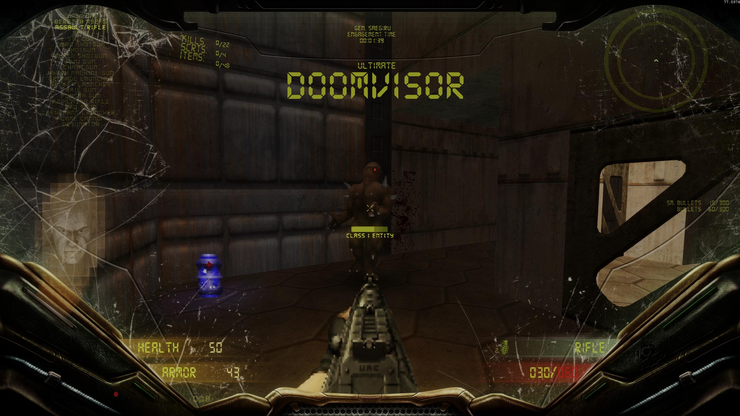 Ultimate DoomVisor HUD v2 13 ** 2019-06-07** addon - Mod DB