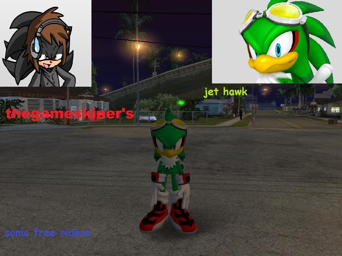 Jet the hawk sonic riders