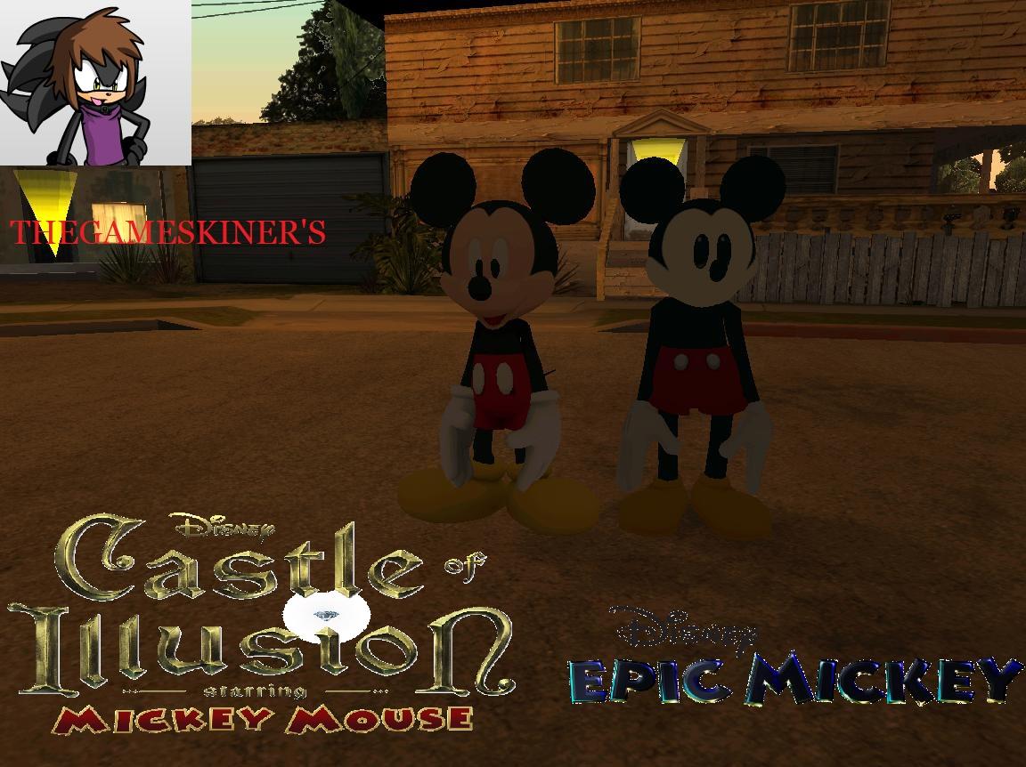 Mickey Mouse Gta Sa