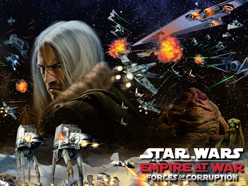 скачать игру скачать star wars empire at war forces of corruption