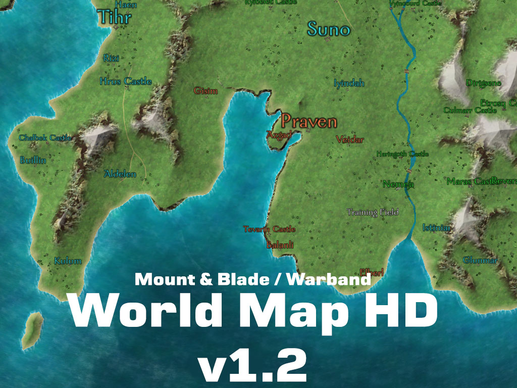 world map hd v12