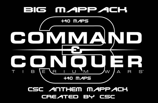 CSC Anthem Map Pack +40 Map\'s - FINAL addon - C&C3: Tiberium Wars ...