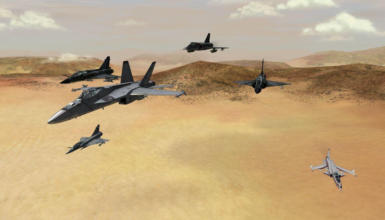 HAWX Strike Fighters Mod Part 2 addon - Vector Thrust - Mod DB