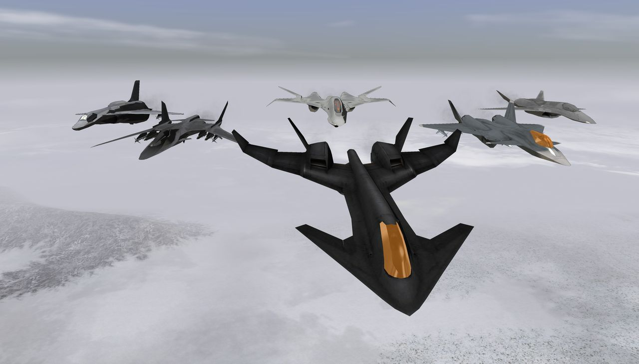 Ace Combat X Fictional Aircraft Pack 1 addon - Vector ...