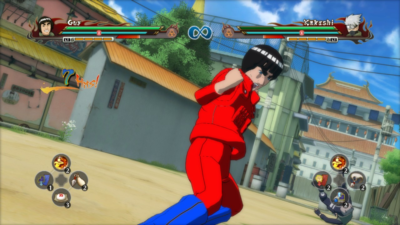 Might Guy Mod Addon Naruto Shippuden Ultimate Ninja Storm