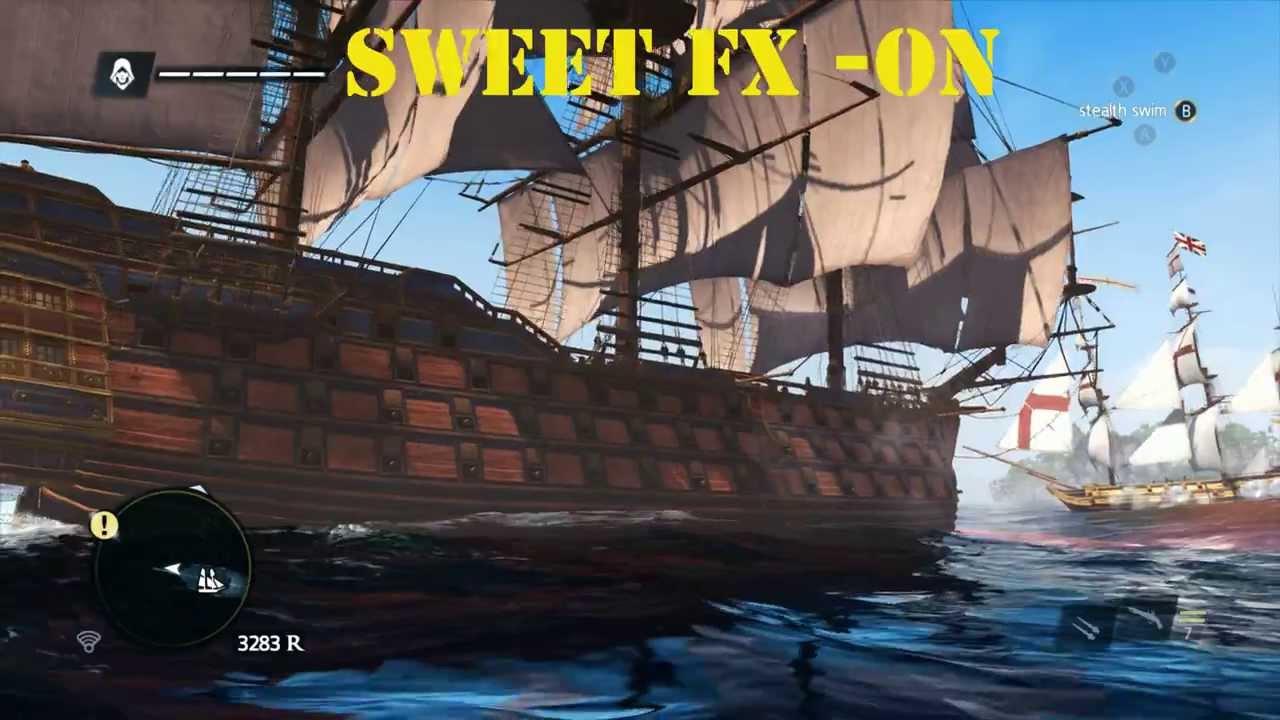 assassins creed black flag ps4 graphics