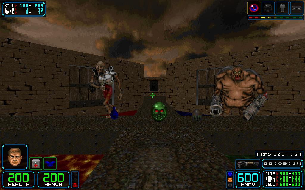 HXRTC HUD 1 2 for classic Doom addon - Mod DB