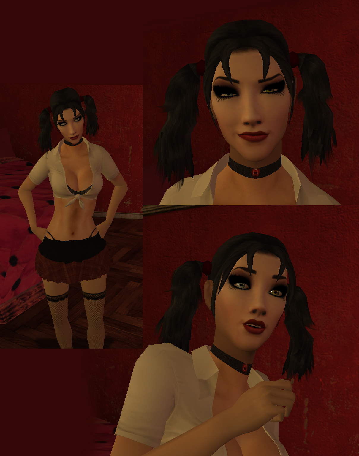 Vampire the masquerade bloodlines sexy skins