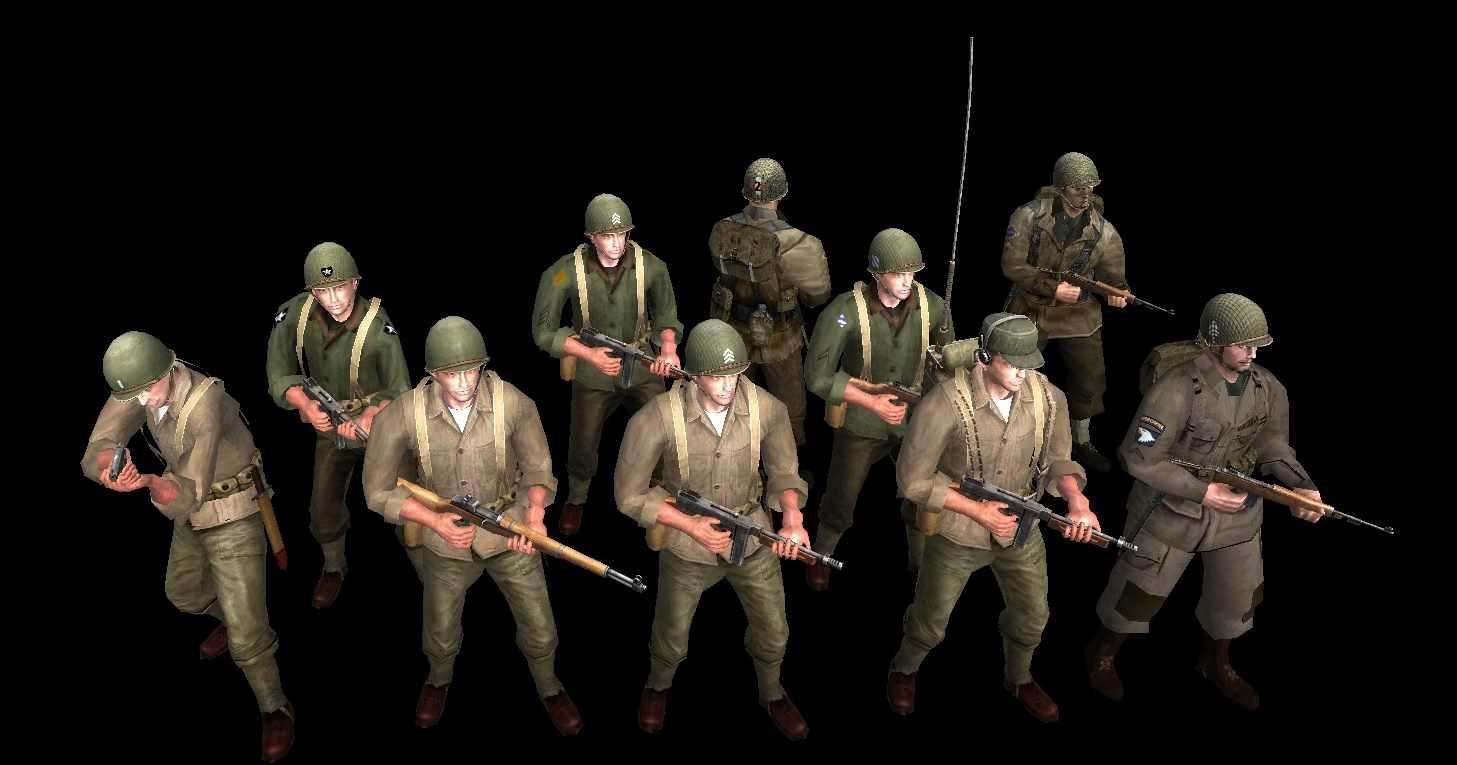US Army skins addon - Fatcheek mod for Men of War: Assault Squad ...