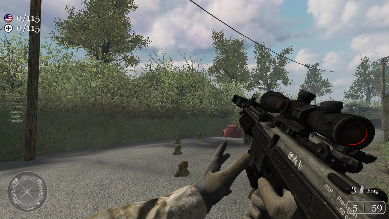 BO2 DSR-50 file - ModelQuest mod for Call of Duty 2 - Mod DB