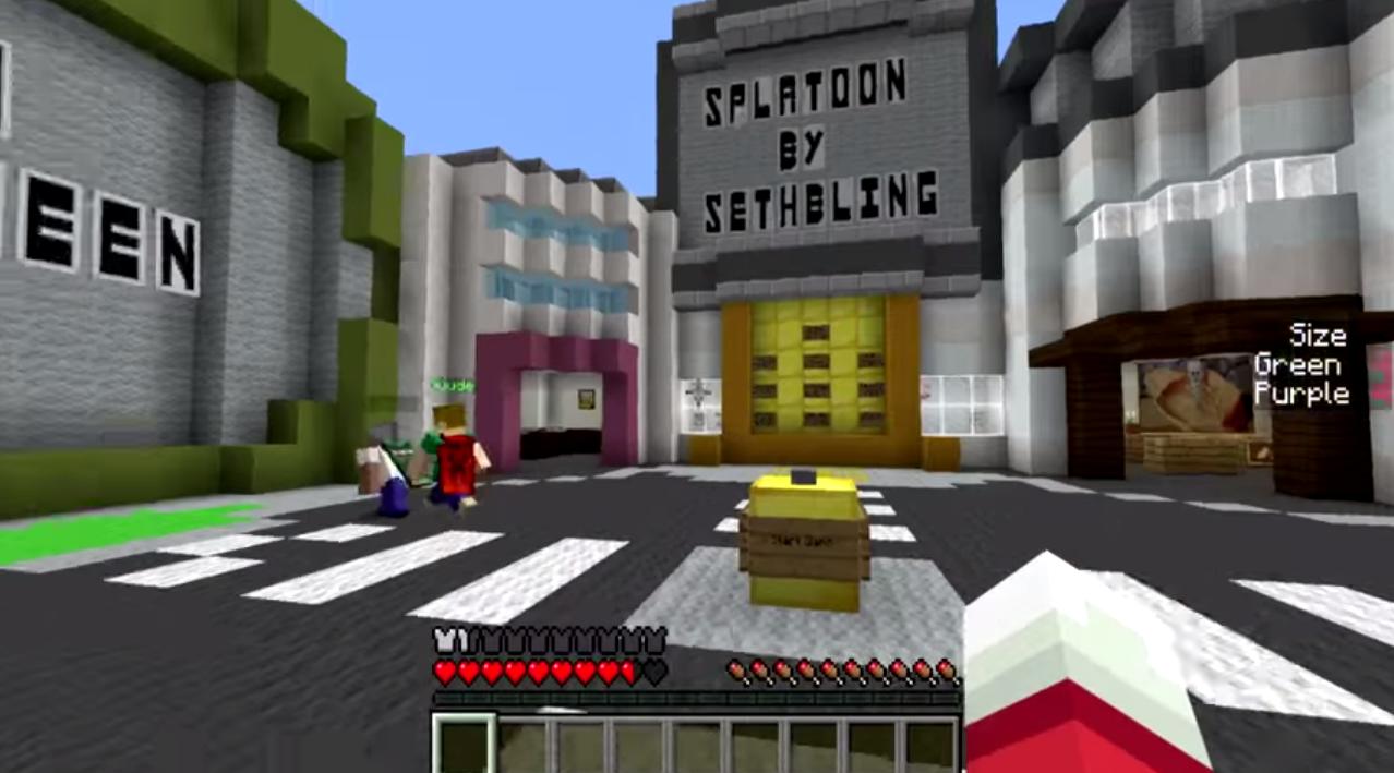 Splatoon for Minecraft file - Mod DB
