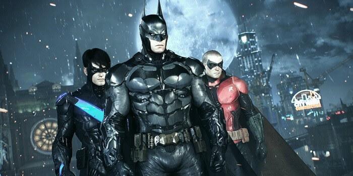 batman arkham knight free roam robin