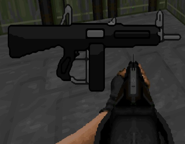 Aa12 Automatic Shotgun V2 Addon Brutal Doom Mod For Doom