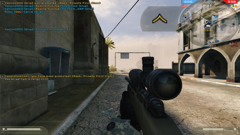 Battlefield 2 rank not updating