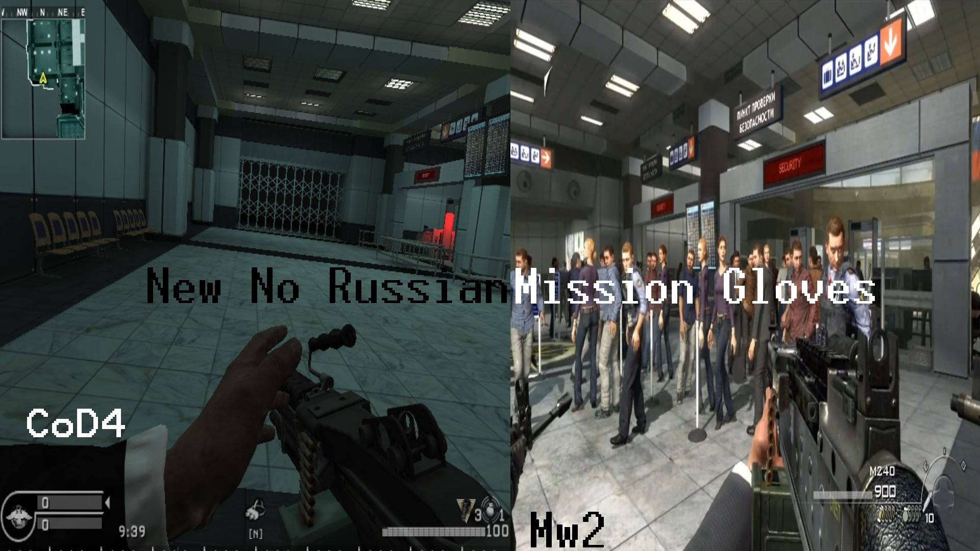 Warfare no russian airport